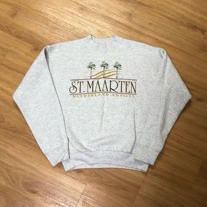 Vintage 90's St. Maarten Antiles Crewneck Sweater